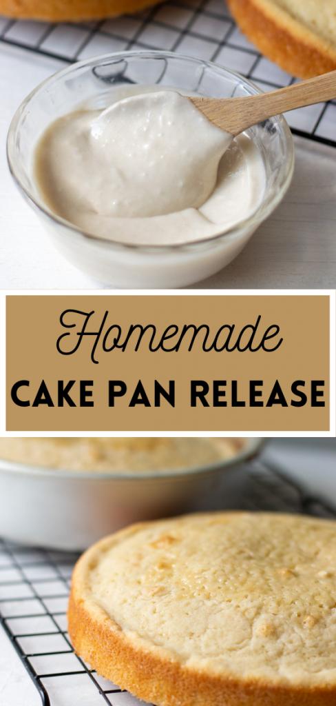 homemade cake pan release recipe